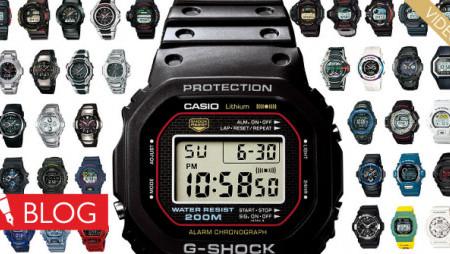 Kratka povijest puna prvenstava. Ovako je vrijeme prolazilo sručnim satovima Casio G-Shock