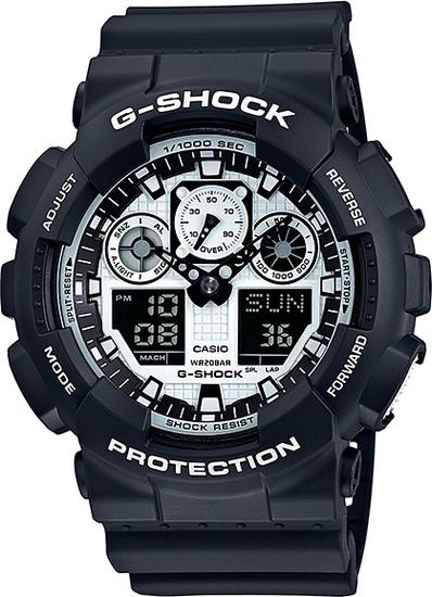 CASIO G-SHOCK G-CLASSIC GA 100BW-1A
