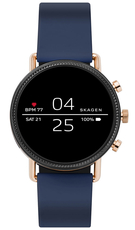 SKAGEN Smartwatch Falster 2 Navy Silicone SKT5110