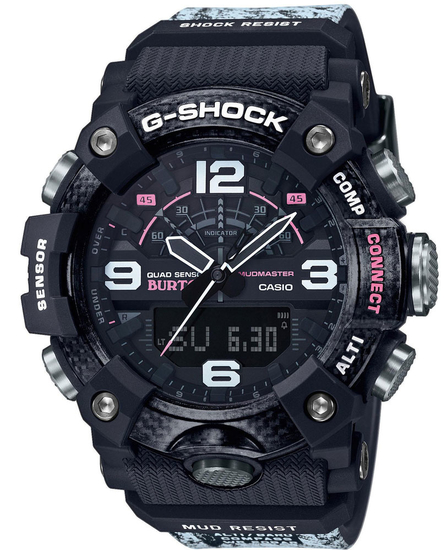 CASIO G-SHOCK GG-B100BTN-1AER BURTON COLLABORATION MODEL