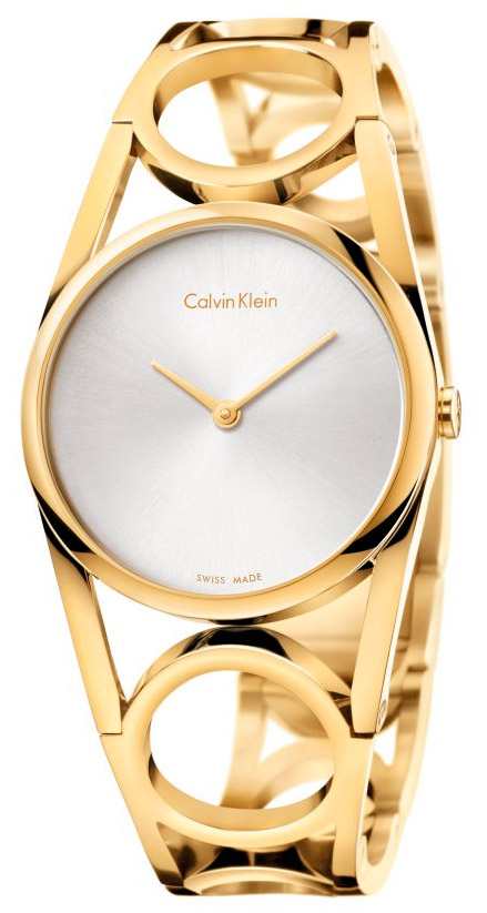 CALVIN KLEIN Round Medium Bangle K5U2M546