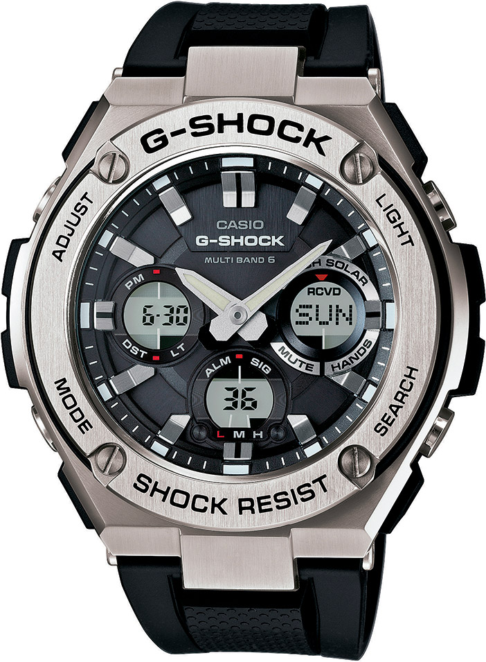 CASIO G-SHOCK G-STEEL GST W110-1A
