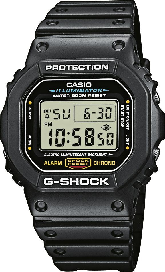 CASIO G-SHOCK G-CLASSIC DW 5600E-1